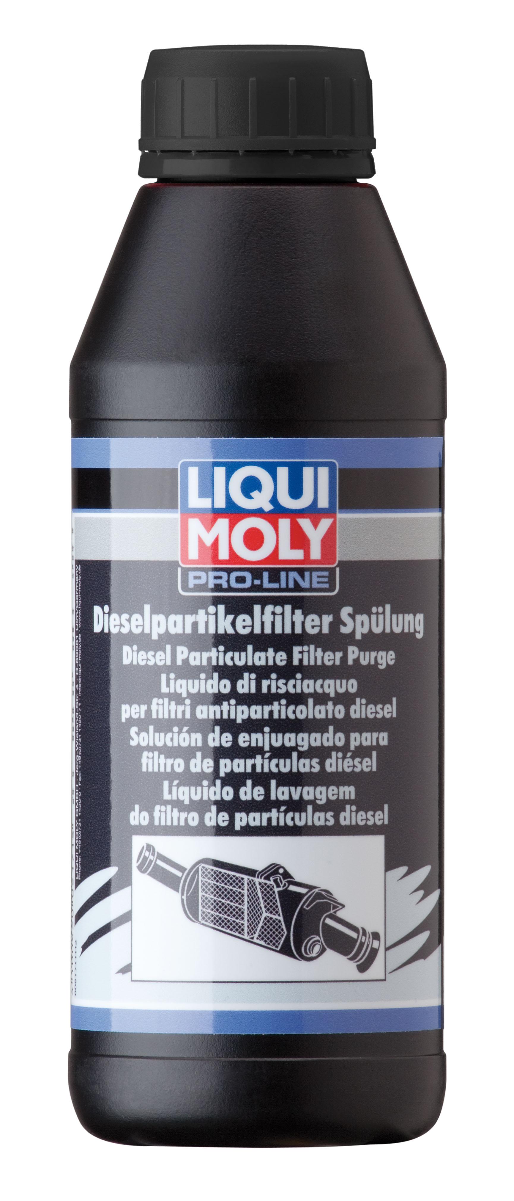 "LM נוזל שטיפה למע כת 500 DPF מ""ל ליקווי מולי"