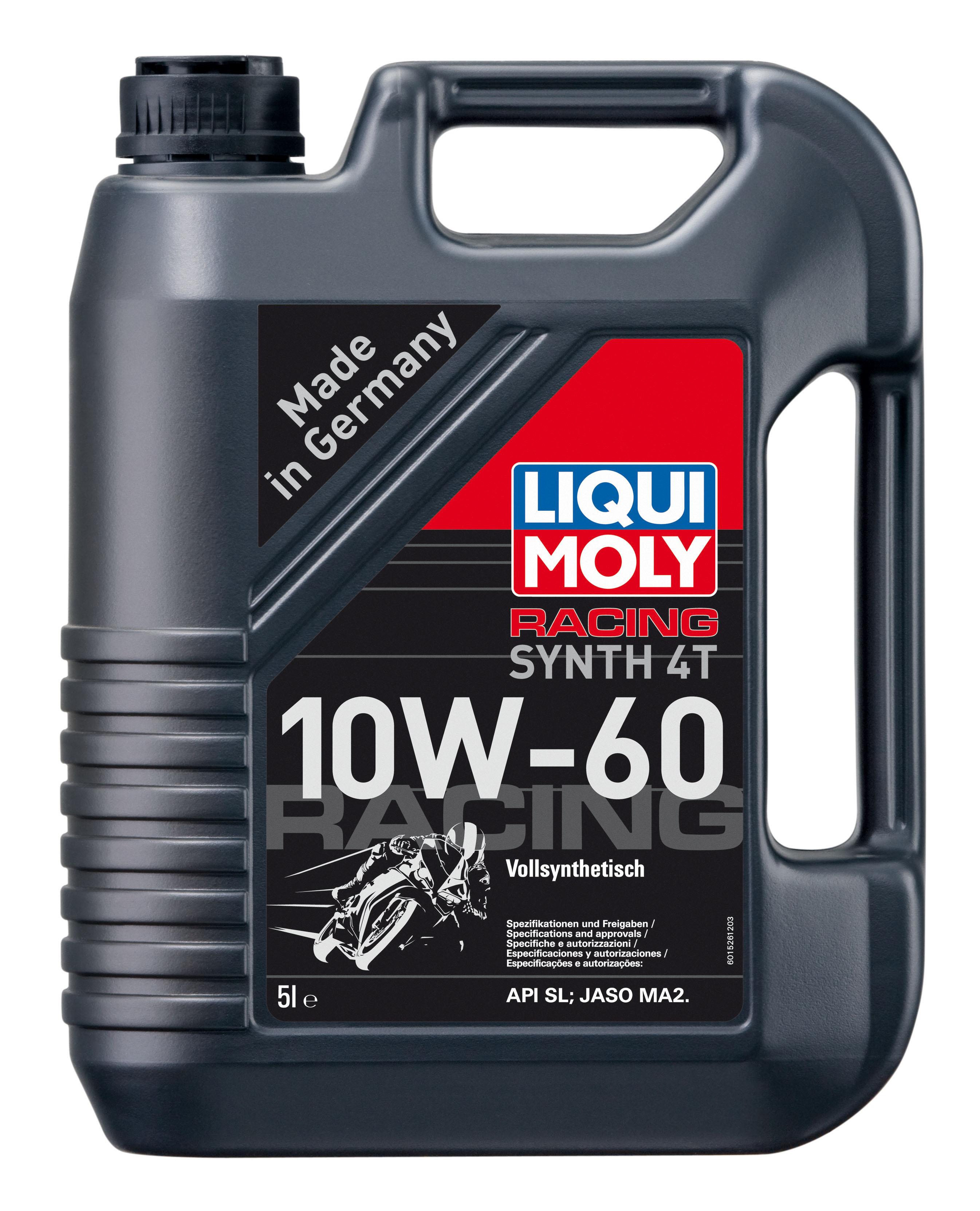LM שמן לאופנוע 4  T4 10W60 ליטר ליקווי מולי
